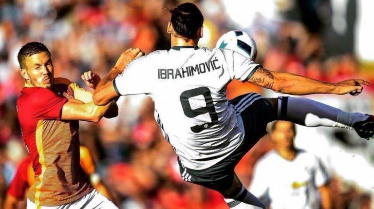 Vidéo: Le premier but pour Zlatan Ibrahimovic à Manchester United !