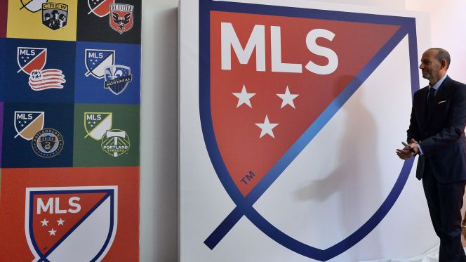 Don Garber MLS logo Major League