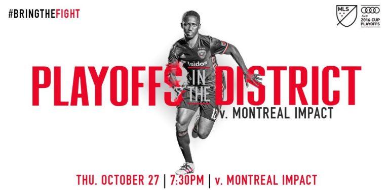 Le match Impact Montreal c. DC United pas retransmis à la télévision
