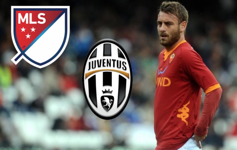 Pour Daniele De Rossi, c'est la MLS avant la Juventus