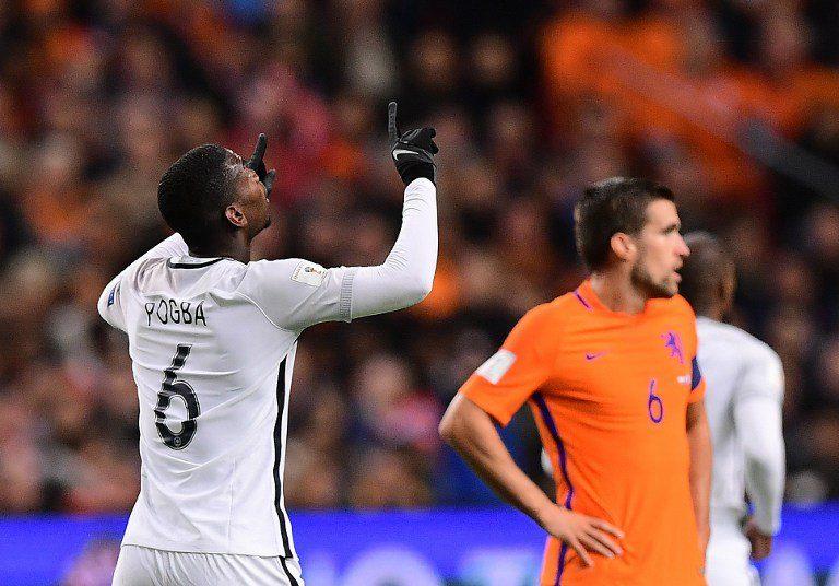 Le magnifique but de Pogba contre le Pays-Bas