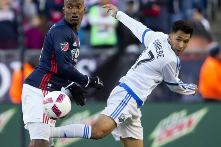 La premiere titularisation en MLS de David Choiniere