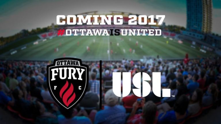 Fury FC d'Ottawa en USL dès 2017