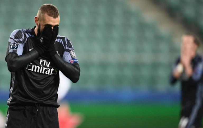 LdC : Le Real Madrid concède un nul surprenant à Varsovie (3-3)