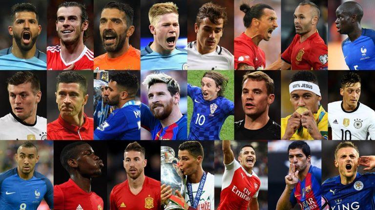FIFA Football Awards : Et les nommés sont…