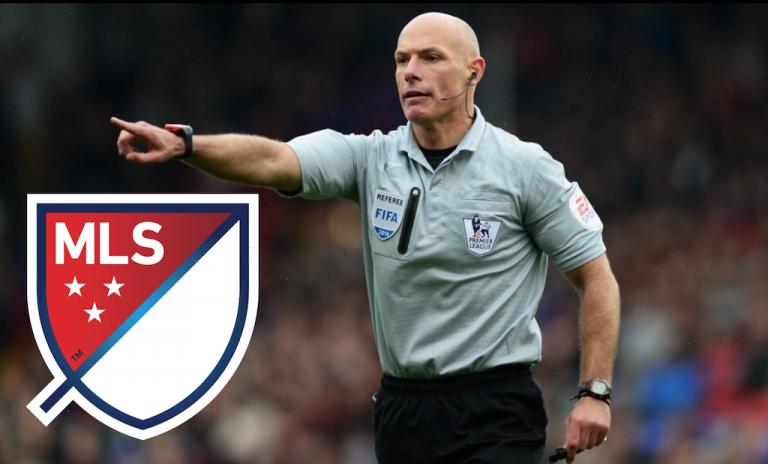 Une offre de la MLS pour l'ancien arbitre anglais Howard Webb.
