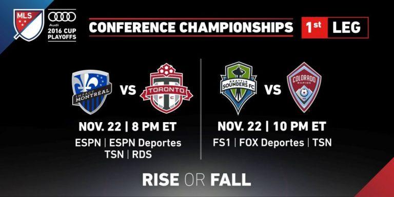 Programme des finales de conférence de la Coupe MLS 2016
