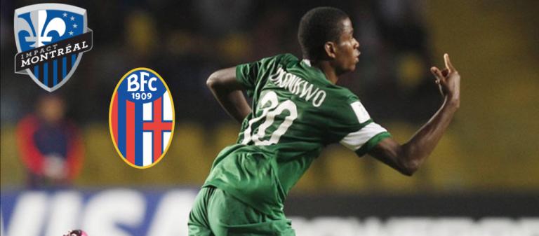 Un jeune de Bologna FC, Orji Okonkwo, dans le viseur de Montréal?