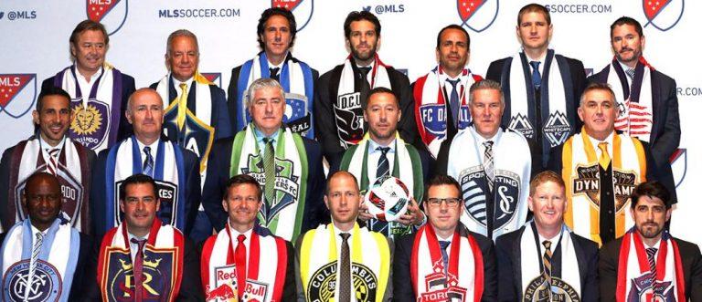 Déguisement Halloween soccer MLS : Heaps, Mastroeni et Marsch