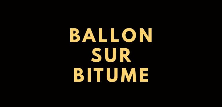 """""""Ballon sur bitume"""" : un documentaire sur la culture street football"""