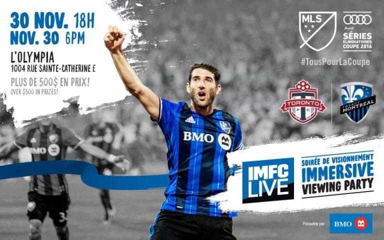 Où voir la finale retour de l'Impact de Montreal c. Toronto FC ?