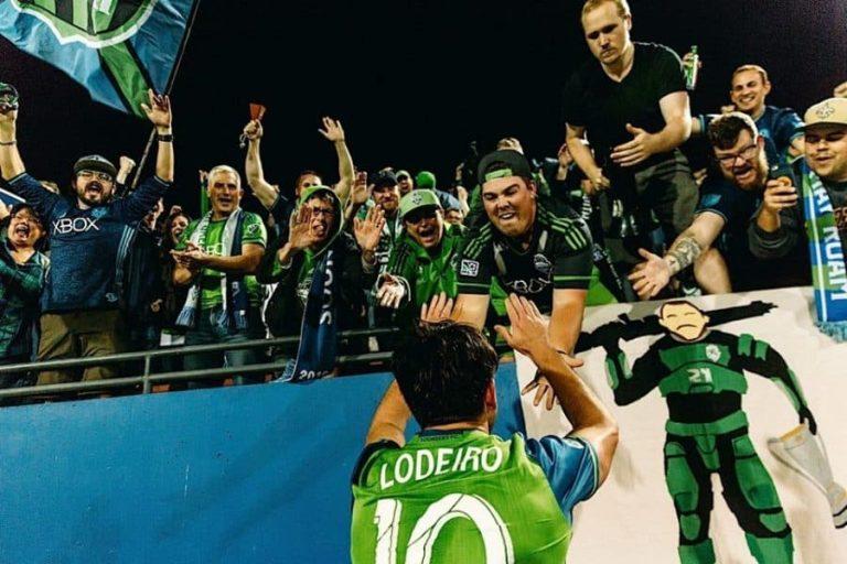 MLS – Nicolás Lodeiro (Seattle) le nouveau venu de l'année 2016