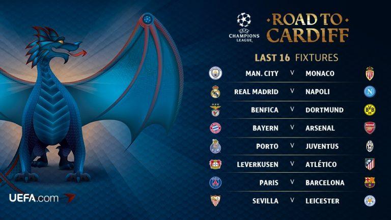 Tirage complet de la Ligue des Champions : Arsenal c. Bayern et PSG c. Barcelone !