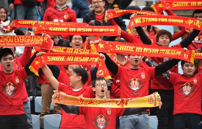 football en chine