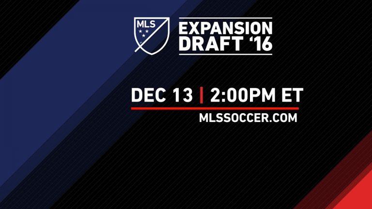 En Direct : Repêchage d'Expansion MLS 2016