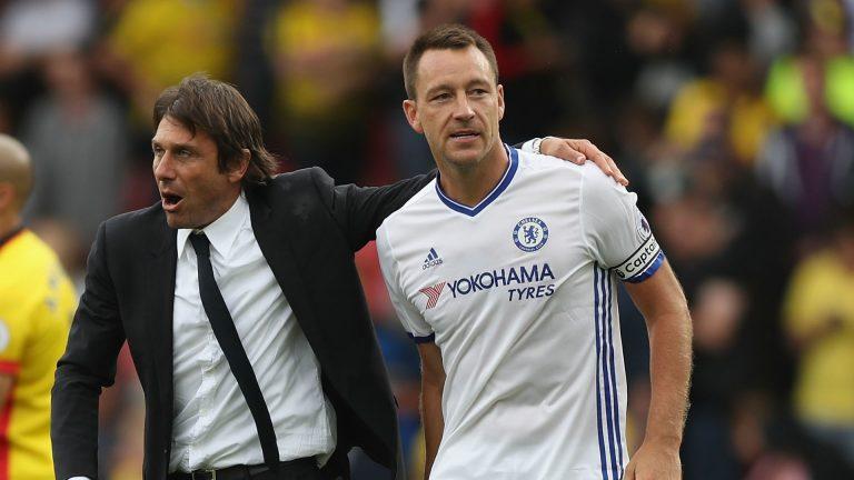 Premier League : Antonio Conte parle de l'avenir de John Terry à Chelsea