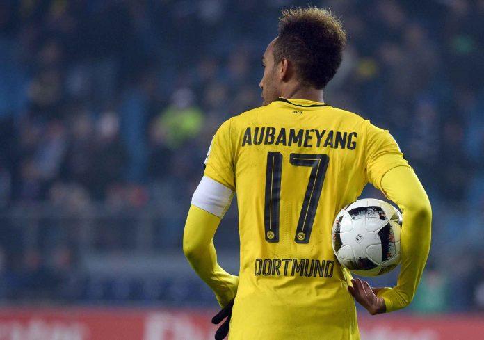 Aubameyang Borussia Dortmund Chine