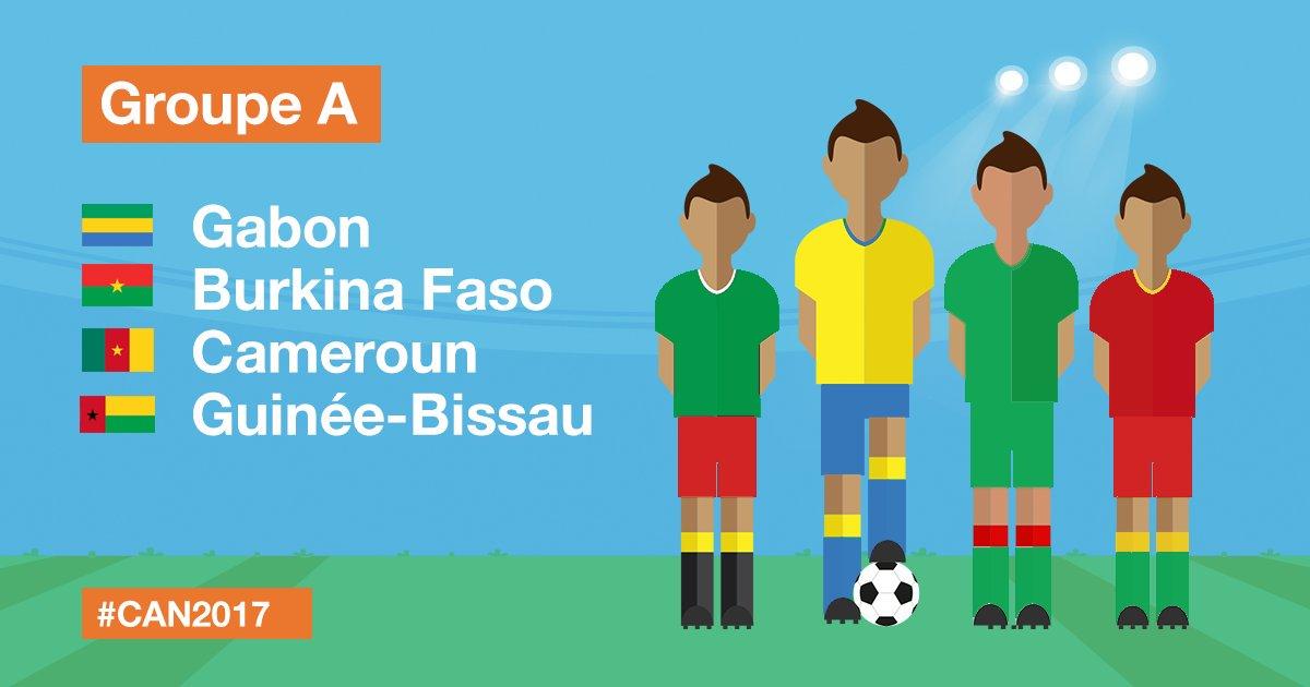 CAN 2017 Gabon Burkina Faso Cameroun Guinée Bissa