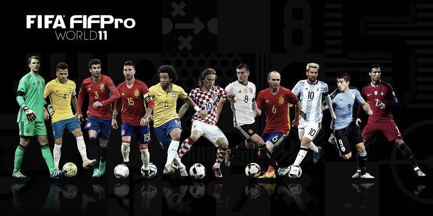 FIFPro XI 2016