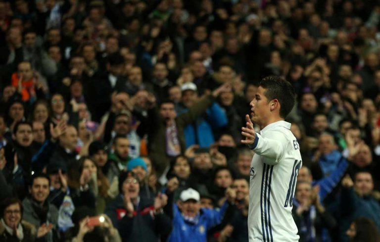 Real Madrid : James Rodriguez parle de son avenir
