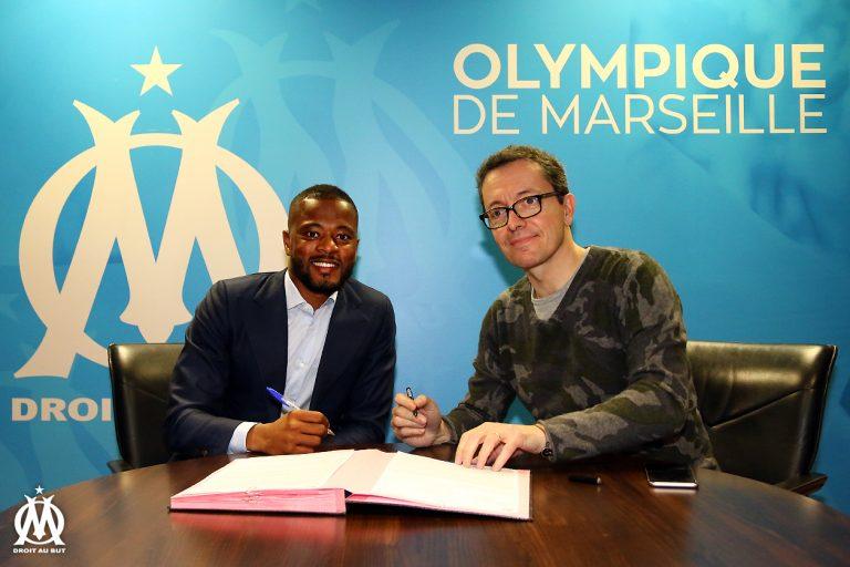 Ligue 1 : Patrice Evra s'engage avec l'OM pour une durée de 18 mois