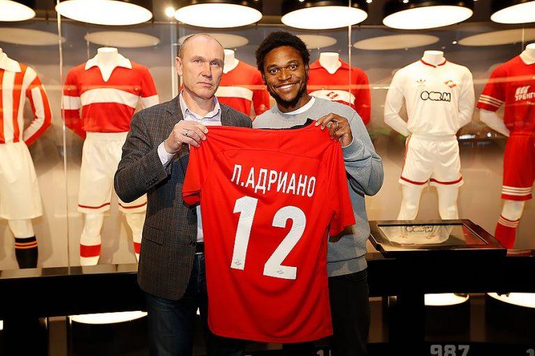 Transfert : Luiz Adriano s'engage avec le Spartak Moscou