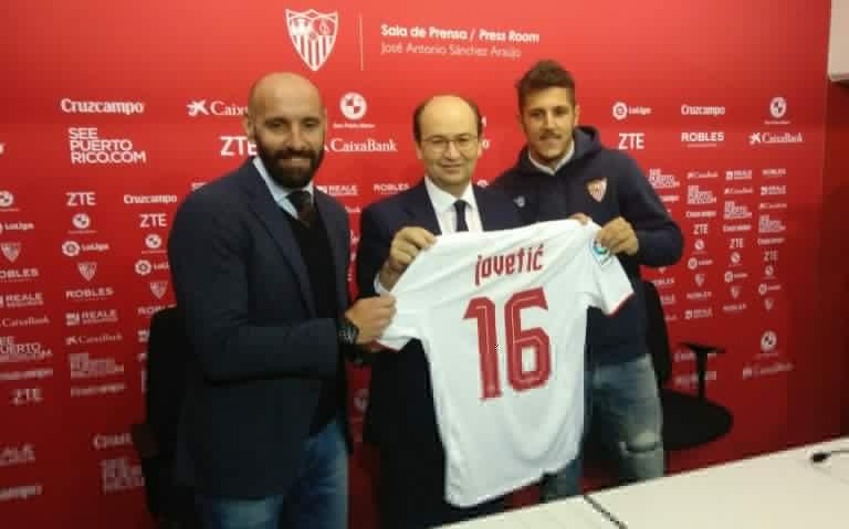 FC Seville : Stevan Jovetic arrive sous forme de prêt