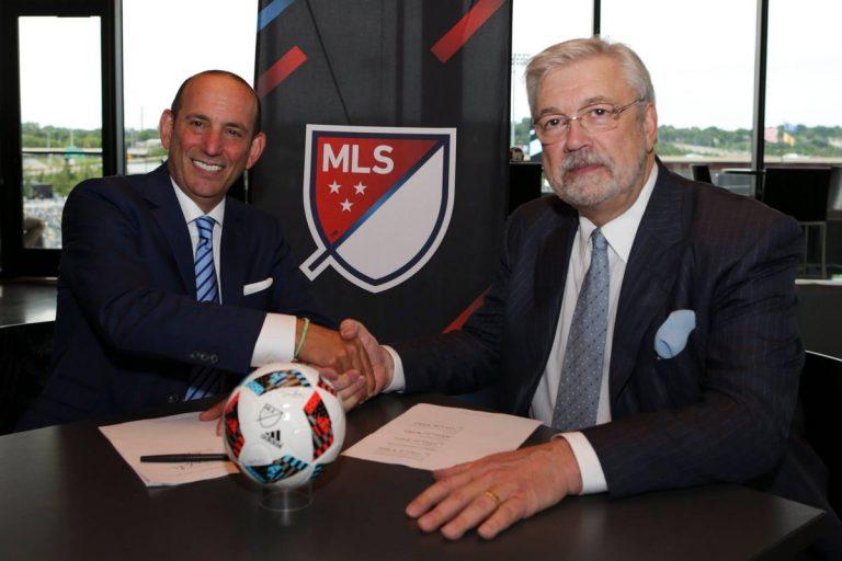 Expansion MLS : 26 clubs d'ici 2020, frais d'expansion à 150 millions $US