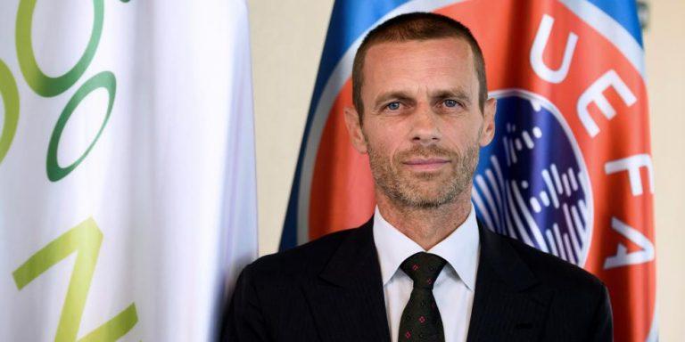 Le président de l'UEFA Aleksander Ceferin met Donald Trump en garde