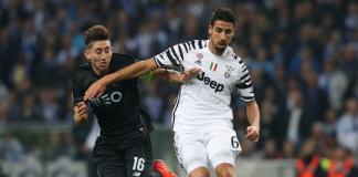 Hector Herrera blessure Porto Juventus