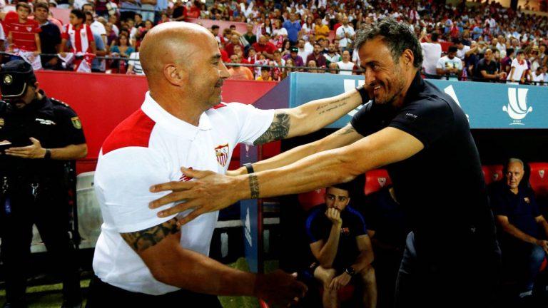 FC Barcelone : Jorge Sampaoli pour remplacer Luis Enrique sur le banc catalan ?