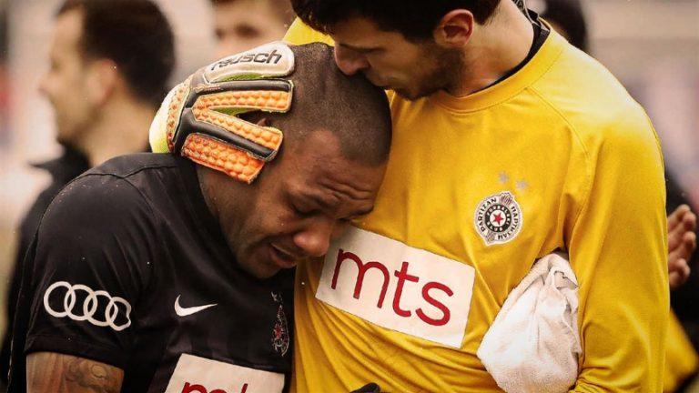 Everton Luiz, joueur brésilien du Partizan, victime de cris racistes