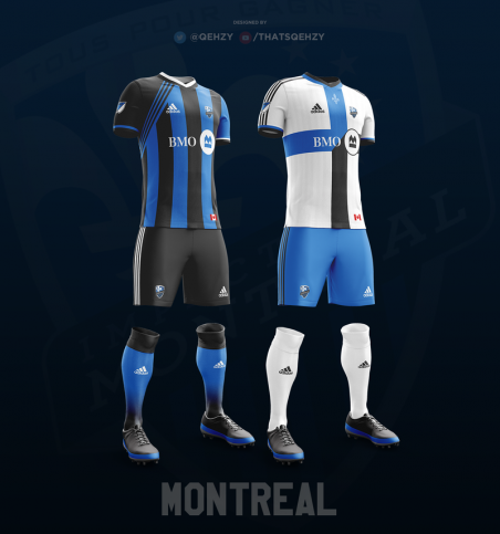 Youtuber Qehzy maillots MLS