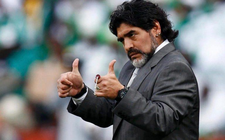 Diego Maradona donnera une conférence aux États-Unis, et pas n'importe où!