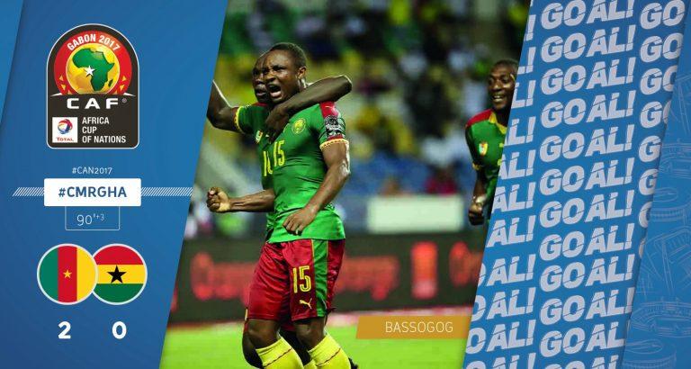 Ambroise Oyongo en finale de la Coupe d'Afrique des Nations !