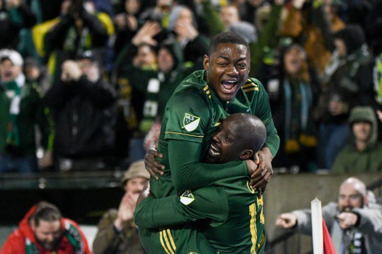 Lawrence Olum marque le premier but de l'année MLS
