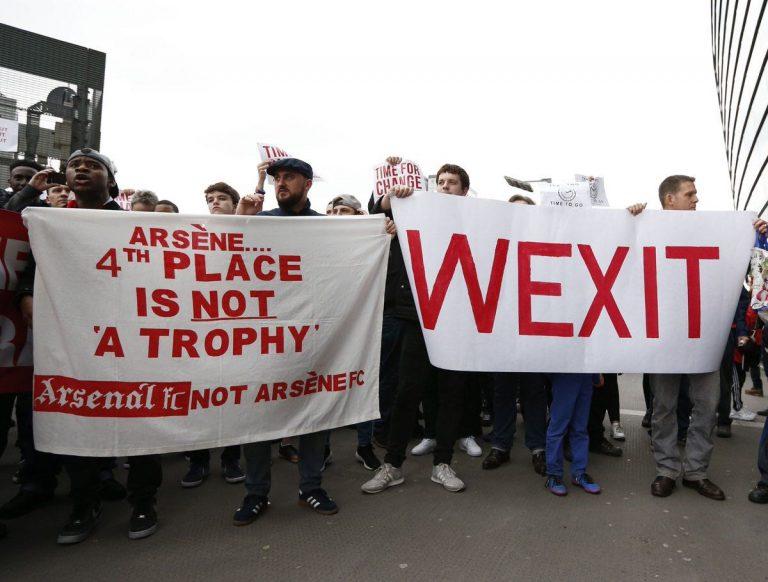 Manifestation à Londres : «Wenger dégage de notre club  »