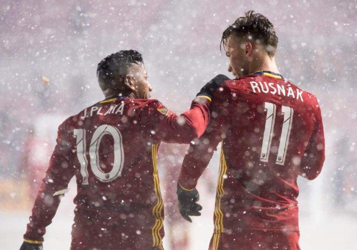MLS en blanc : Les spectaculaires images du match de Real Salt Lake