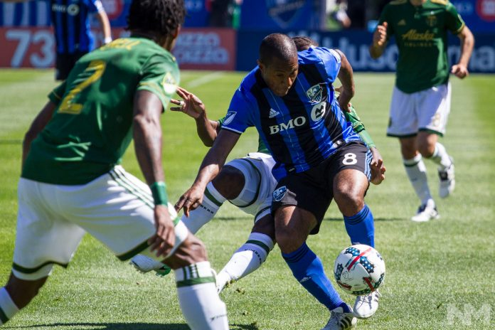 MLS 2017 - Impact de Montreal vs Portland Timbers