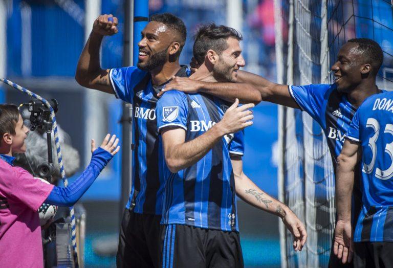 L'Impact de Montréal tient tête aux Timbers de Portland au stade Saputo