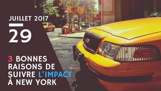 3 bonnes raisons de suivre l'Impact à New York