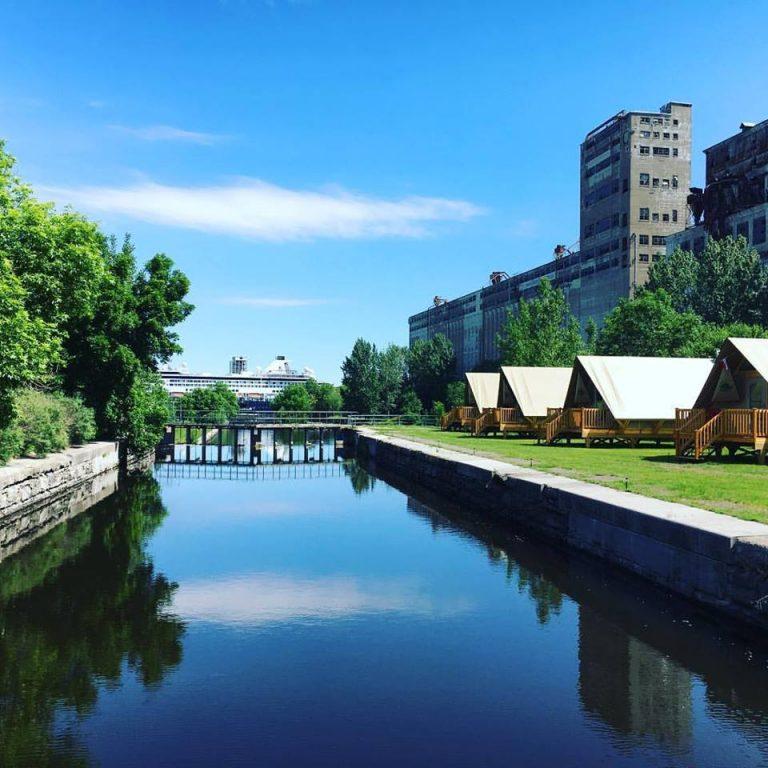 Le Village des Écluses : Camping urbain et nautisme