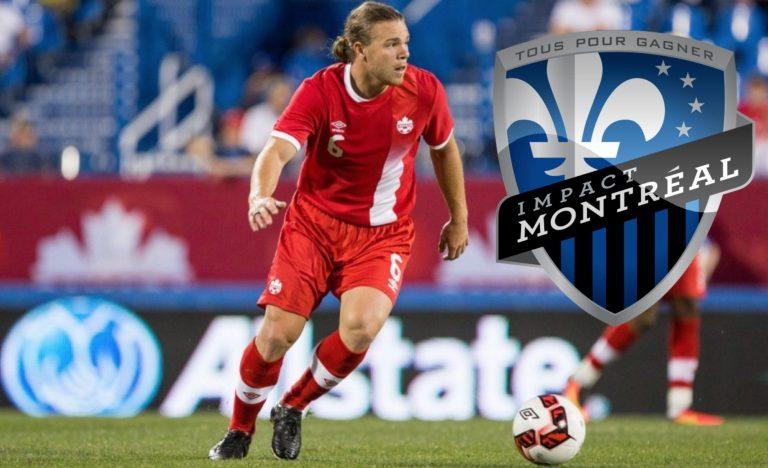 Mercato MLS : Samuel Piette signe à l'Impact de Montréal