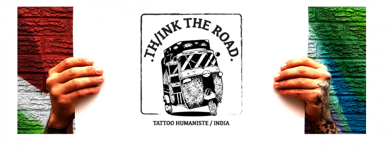 Th/ink the Road: une initiative Tuk tuk et tatouages humanistes