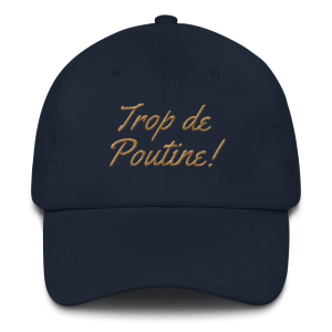 casquette-montreal-poutine_photo_Front_Navy