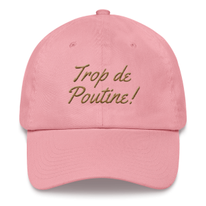casquette-montreal-poutine_photo_Front_Pink