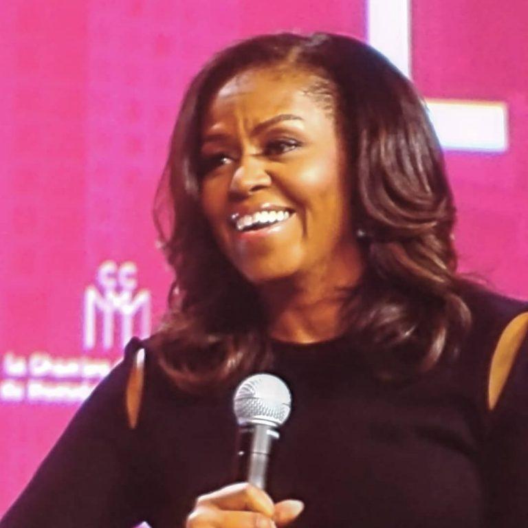 J'étais à la soirée de Michelle Obama à Montréal