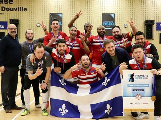 Soccer Local - Le FC Sparte sacré champion 2017 du Futsal au Québec