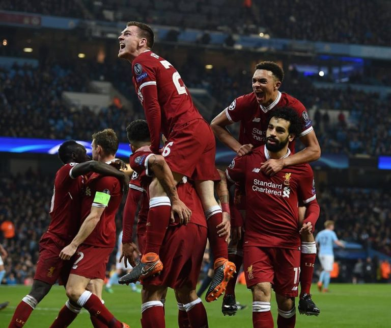 Liverpool : Sur le toit de l'Europe