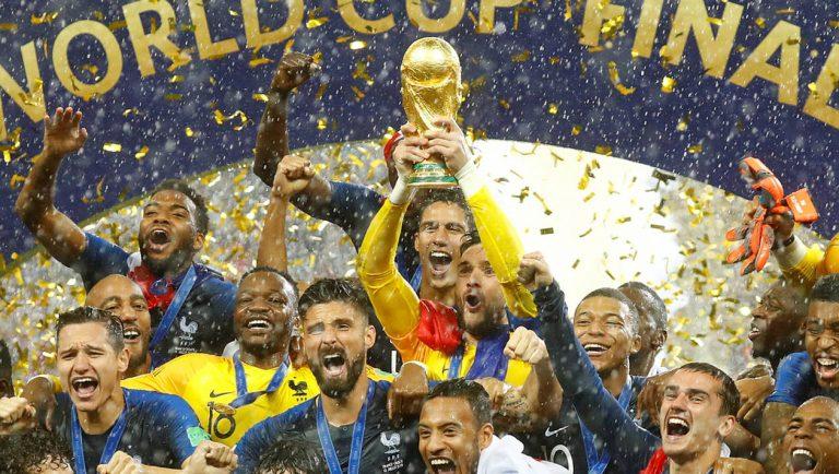 Jour de match à la Coupe du Monde 2018
